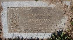 Frank K Samarin
