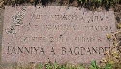 Fanniya A Bagdanoff