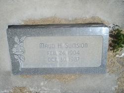 Maud Elizabeth <I>Hansen</I> Sumsion