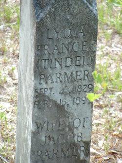 Lydia Frances <I>Tindel</I> Parmer