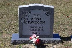 Capt John S Davidson