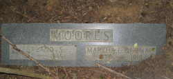 "Martha Elizabeth ""Mattie"" <I>Durham</I> Moores"