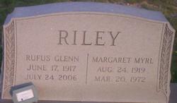 Margaret Myrl <I>Calverley</I> Riley