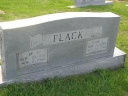 Texie Winnie <I>Jaynes</I> Flack