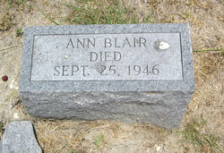 Ann <I>Miller</I> Blair