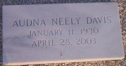 Audna J. <I>Neely</I> Davis