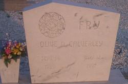 Olive D. <I>Calverley</I> Fry