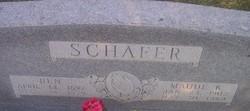 Maude Katherine <I>Carter</I> Schafer