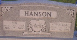 "Lester H ""Bud"" Hanson"