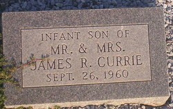 Infant Son Currie