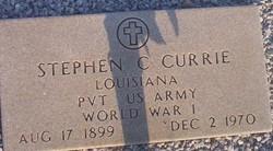 Stephen Calverley Currie