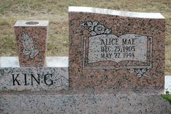 Alice Mae <I>Hunt</I> King