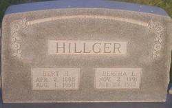 Bertha Lillie <I>Harris</I> Hillger
