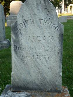 Edith Eliza <I>Thorp</I> Surdam