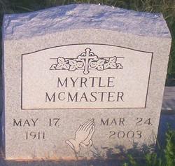 Myrtle Mcmaster