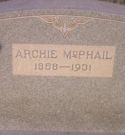 Archie Mcphail