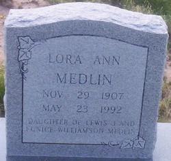 Lora Ann Medlin