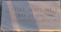 Dr Clifford Henry Neely