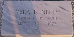 Vera <I>Bigby</I> Neely