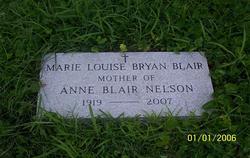 Marie Louise <I>Bryan</I> Blair