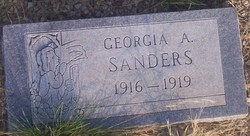 Georgia A. Sanders