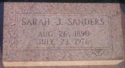 Sarah J. Sanders