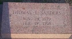 Thomas Edward Sanders