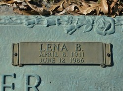 Lena B Miller