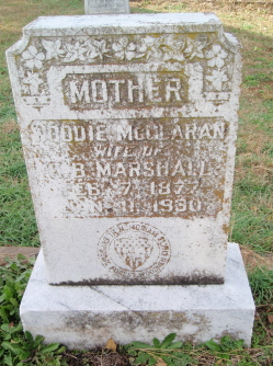 Woodie Mary <I>McClaran</I> Marshall