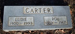 Ludie Elizabeth <I>Israel</I> Carter