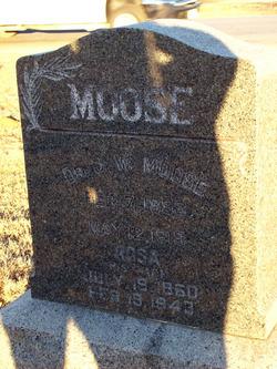Rosa Amelia <I>Wadsworth</I> Moose