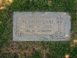 Alta Belle <I>Oglesby</I> Lane