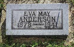 Eva May <I>Weddle</I> Anderson