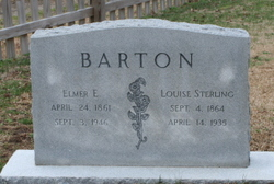 Louise <I>Sterling</I> Barton