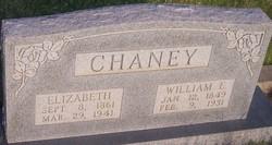 Elizabeth <I>McDonough</I> Chaney
