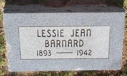 Lessie Jean <I>Pullen</I> Barnard