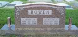 Minnie M <I>Matson</I> Bowen