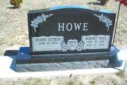 """Robert Paul """"Bob"""" Howe"""