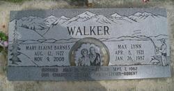Max Lynn Walker