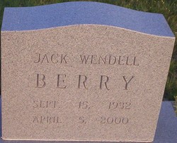 Jack Wendell Berry
