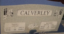 Anna Lee <I>Love</I> Calverley