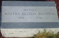 Martha Elzada <I>Dane</I> Boynton