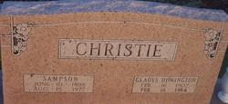 Gladys Matilda <I>Howington</I> Christie