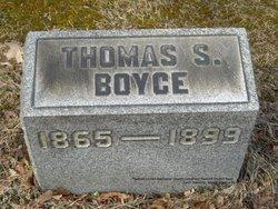 Thomas. S. Boyce