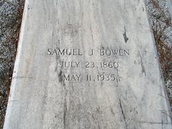 Samuel J Bowen