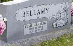 Elsie <I>Isenberg</I> Bellamy