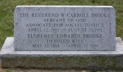 Rev Walter Carroll Brooke