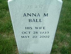 Anna M Ball