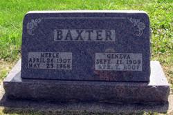 Geneva <I>Huntley</I> Baxter