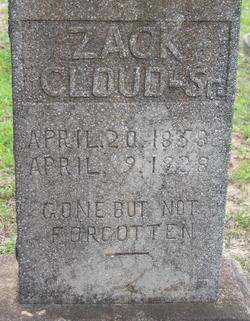 "Zachariah ""Zack"" Cloud"